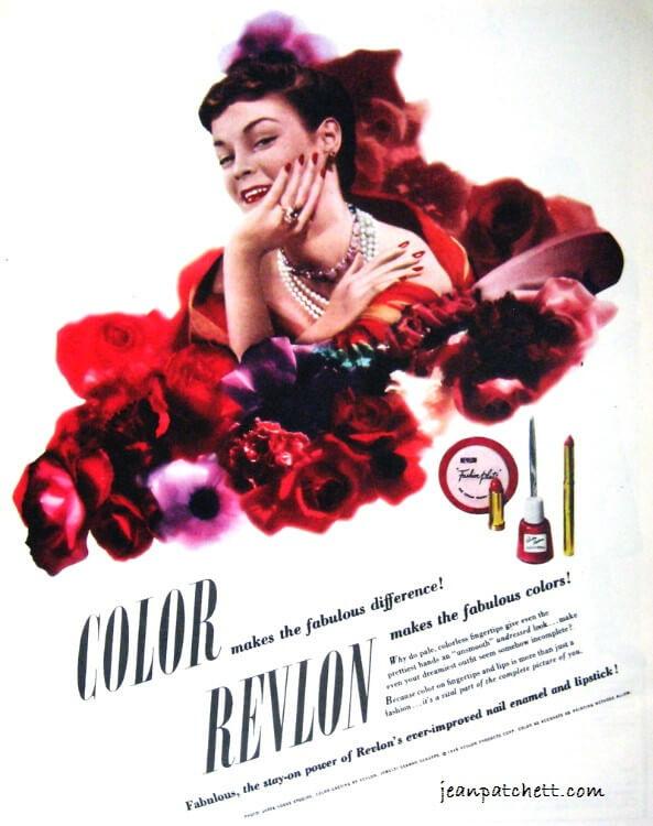 Revlon 1950s Ads Jean Patchett Suzy Parker & other models - An ...